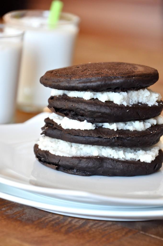 Oreo Cookie Pancakes #minimalistbaker