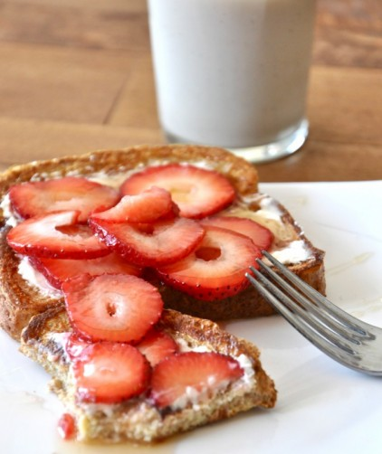 Strawberry Danish French Toast