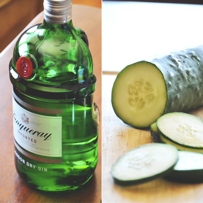 Cucumber Cooler Cocktails #minimalistbaker