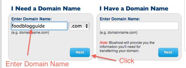 how to setup bluehost 1