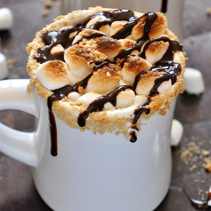S'mores Hot Chocolate + Charity Water E-Cookbook