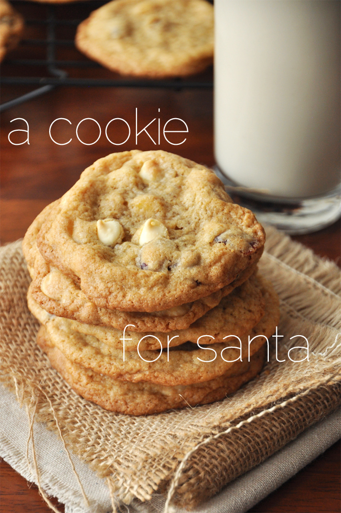 Batch of cookies and milk for Santa