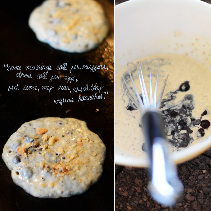 Blueberry Muffin Batter Quote