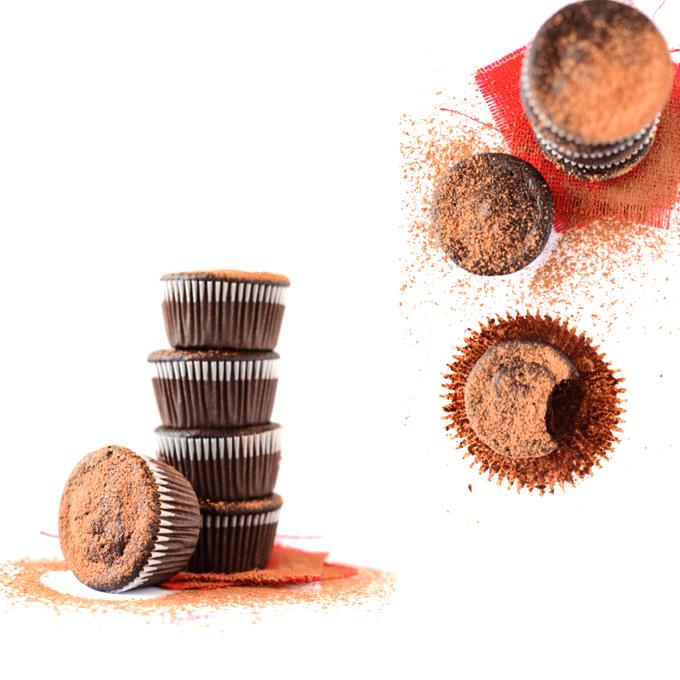 Fudgy Beet Cupcakes | minimalistbaker.com