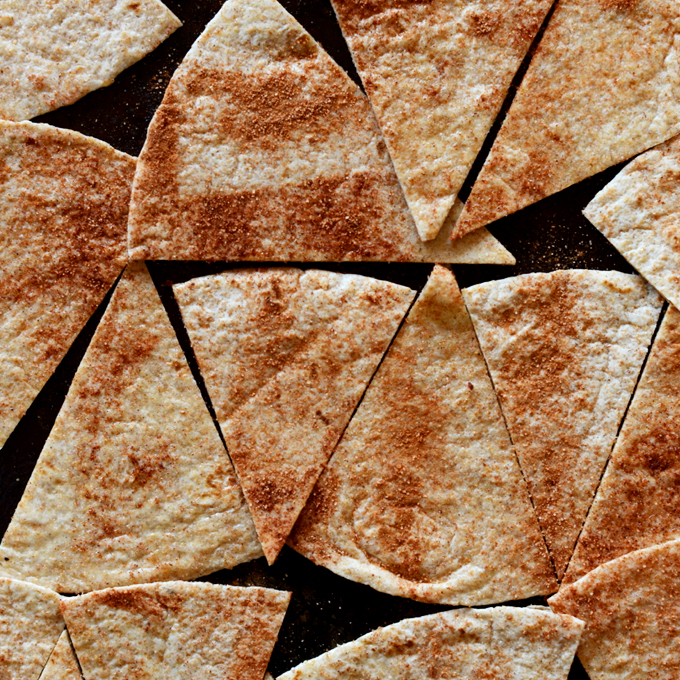 Vegan Dessert Nacho Chips