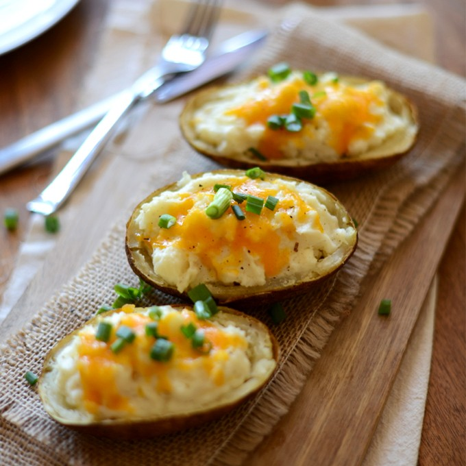Cauliflower Twice-Baked Potatoes