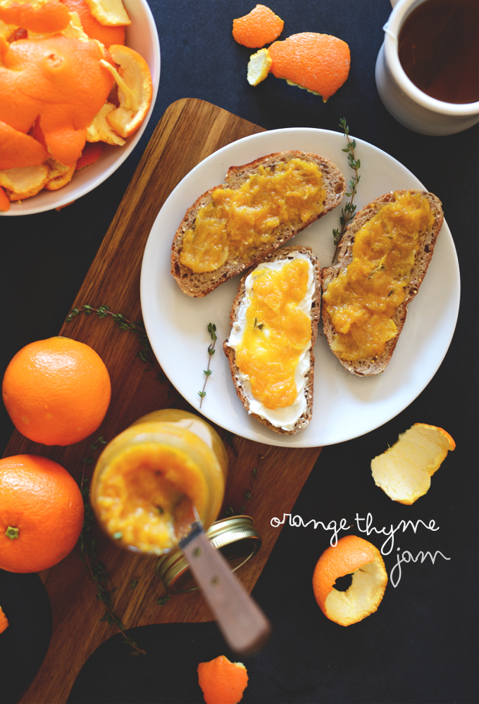 Orange Thyme Jame | minimalistbaker