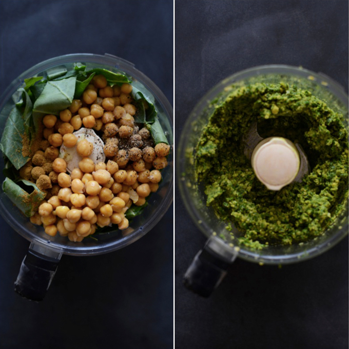Making Better Than Restaurant Falafel in a food processor