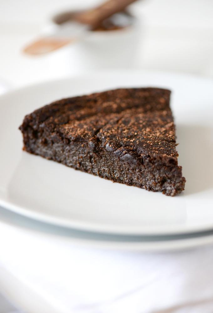 Gluten And Dairy Free White Chocolate Mud Cake