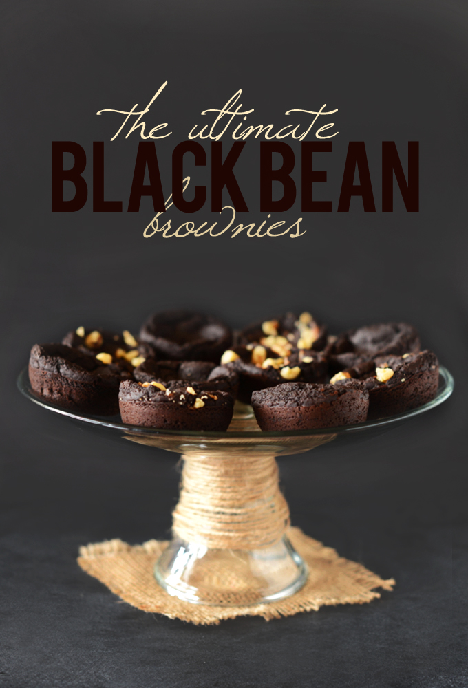 The Ultimate Black Bean Brownies #minimalistbaker