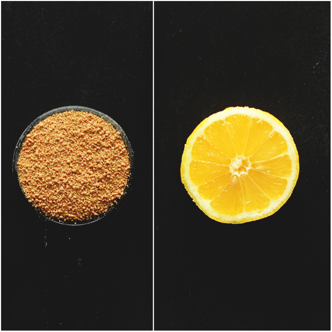 Raw Sugar + Lemon #minimalistbaker