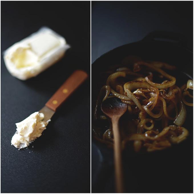 Goat Cheese Caramelized Onion Pizza! | minimalistbaker.com #minimalistbaker
