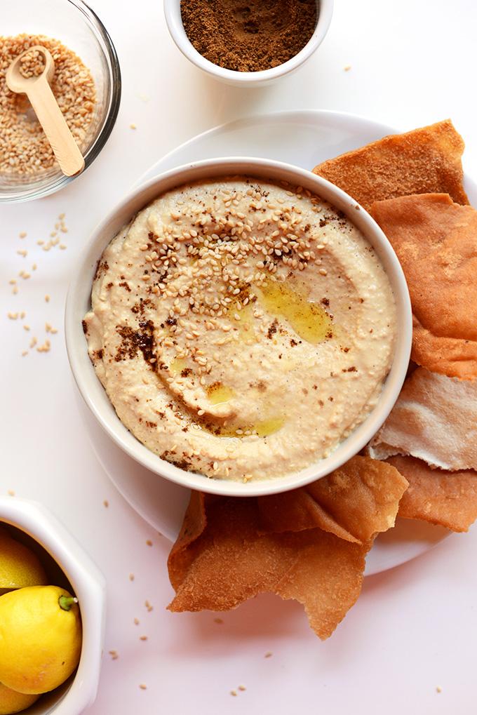Garam Marsala Hummus | minimalistbaker.com