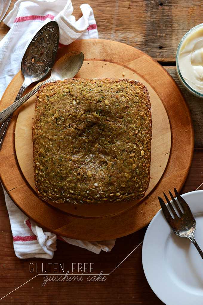 Zucchini Almond Cake Everyday Food