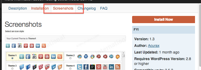 Social media screenshot for our post on How To Install Custom Social Media Buttons on your Website