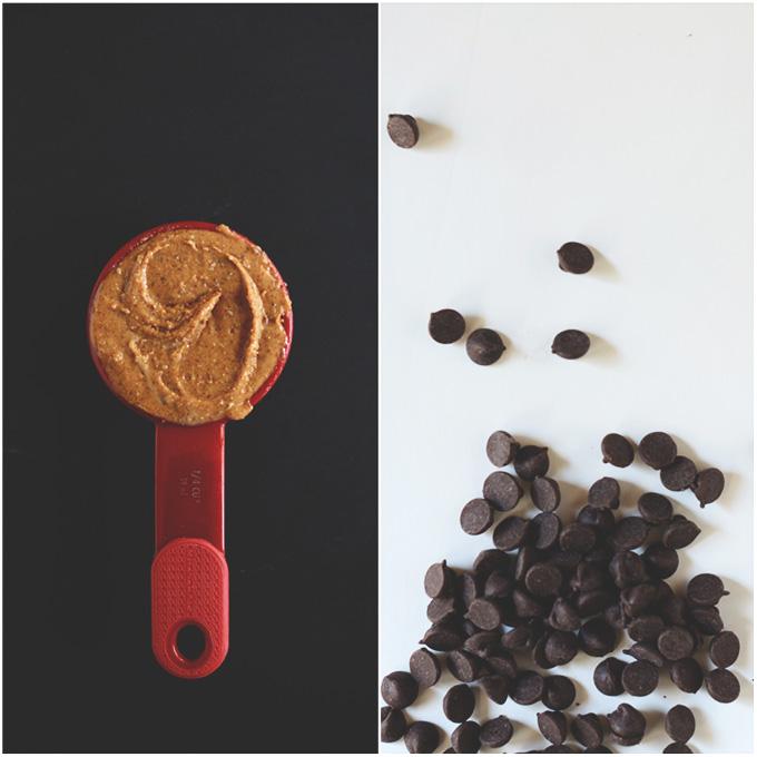 Almond Butter Chocolate Chip Granola Bars | minimalistbaker.com #minimalistbaker