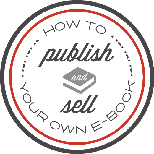 How to publish and sell an e-book logo