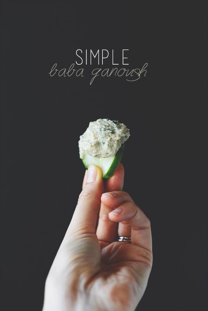 Easy Baba Ganoush Recipe #minimalistbaker
