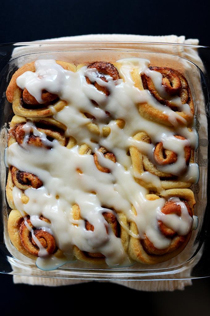 Easy Vegan Cinnamon Rolls