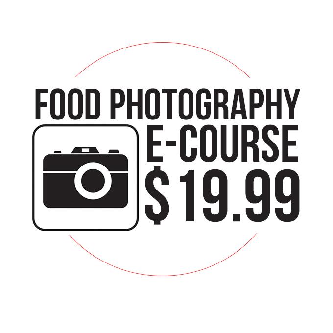 Food Photography E-Course LOGO
