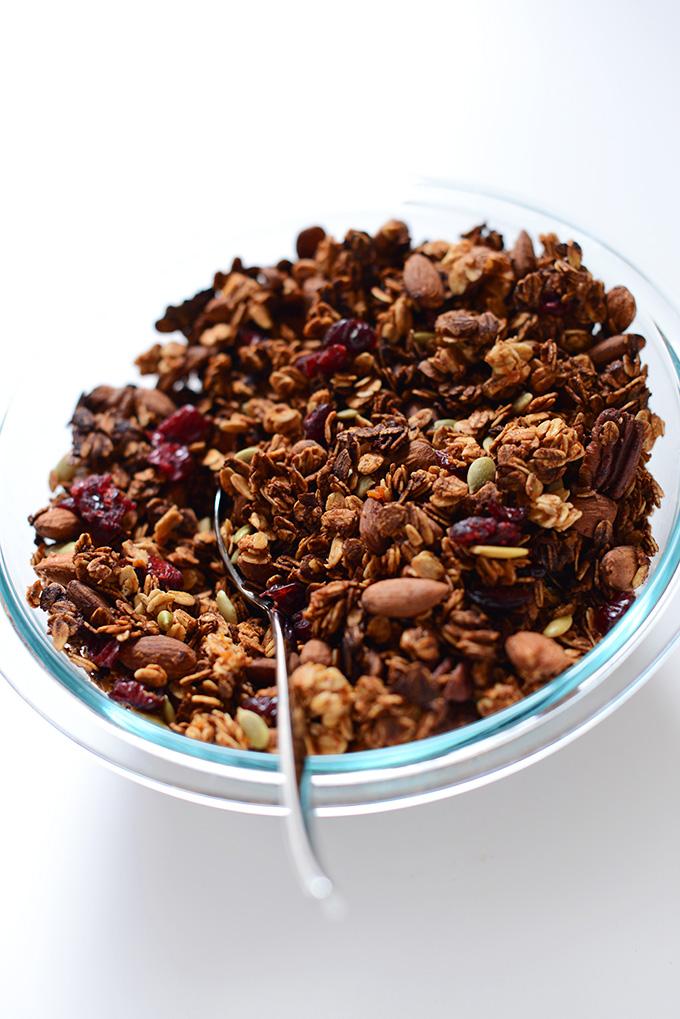 Simple Vegan Granola Recipes | Minimalist Baker