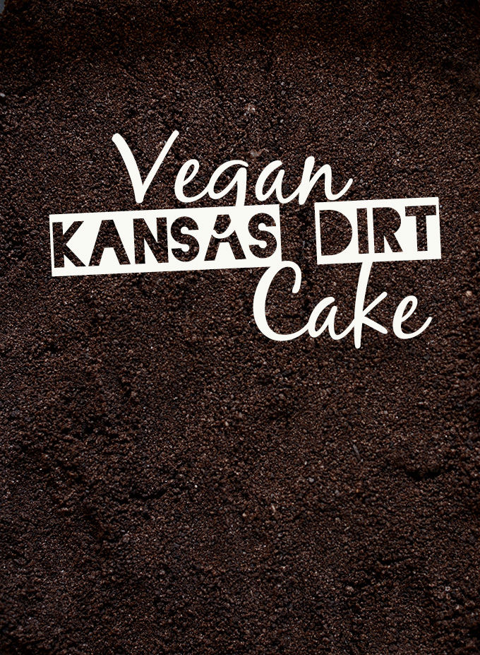 Crushed Oreo Cookies for our Kansas Dirt Cake Crust
