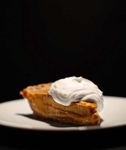 Creamy No-Bake Pumpkin Pie