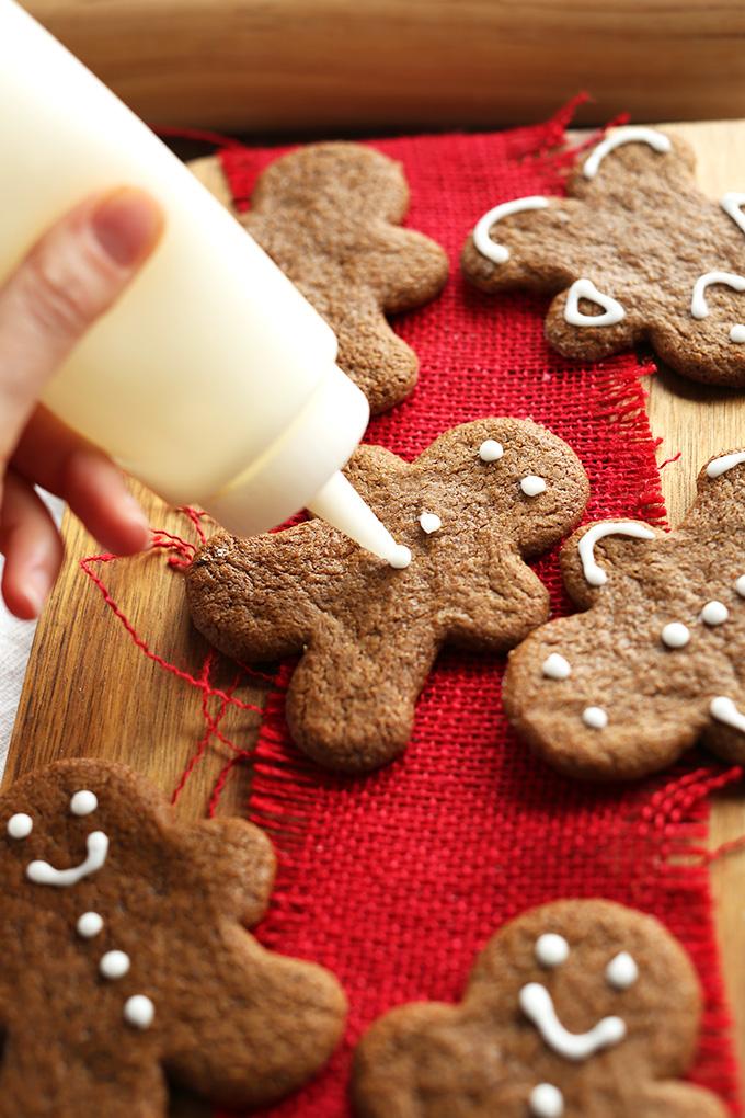 Vegan Gluten Free Gingerbread Men | Minimalist Baker Recipes