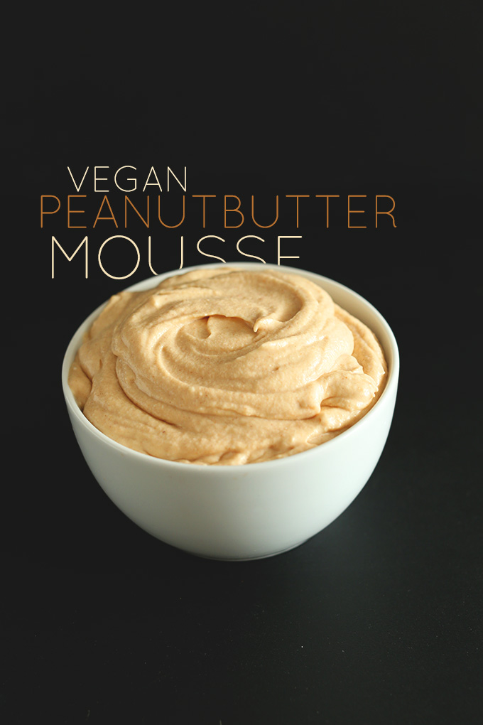 'VEGAN PEANUT BUTTER MOUSSE | MINIMALISTBAKER.COM #minimalistbaker' from the web at 'https://minimalistbaker.com/wp-content/uploads/2013/12/VEGAN-PEANUT-BUTTER-MOUSSE-MINIMALISTBAKER.COM_.jpg'
