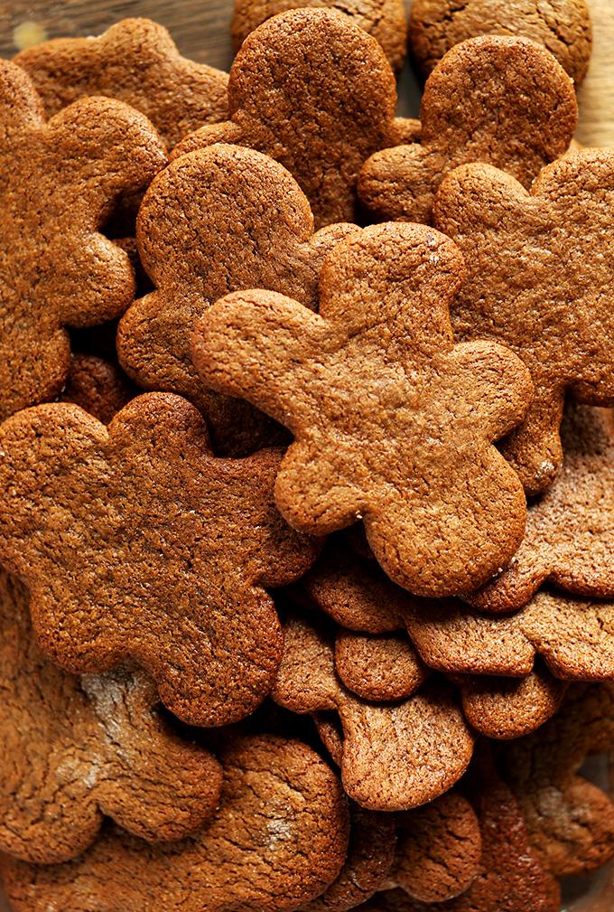 Vegan Gluten Free Gingerbread Men Minimalist Baker Recipes