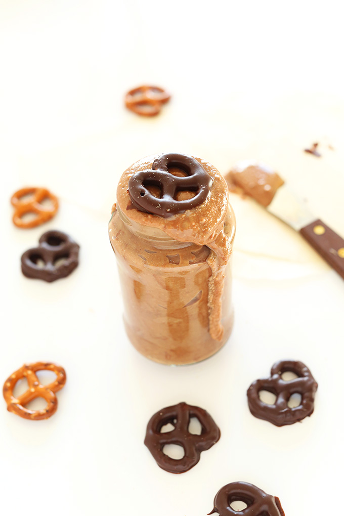 3 Ingredient Pretzel Chocolate Peanut Butter