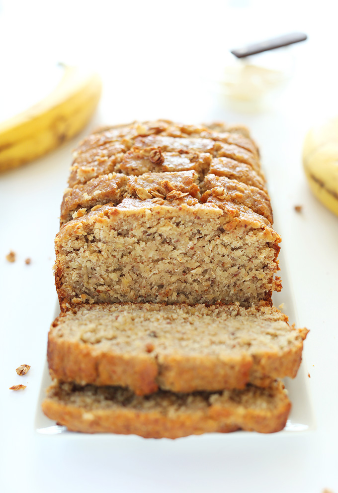1-Bowl Gluten-Free Banana Bread | Minimalist Baker Recipes