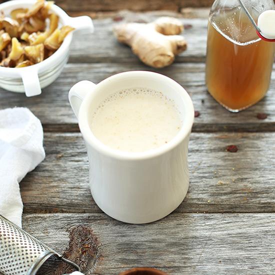 Ginger Tea Latte | Minimalist Baker Recipes