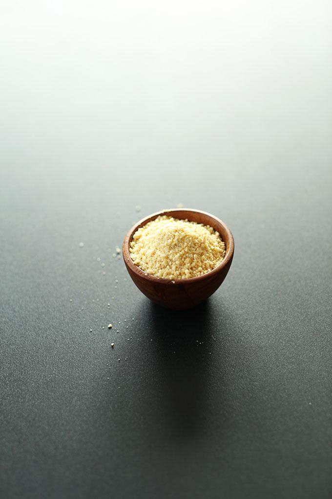 Sprinkle Parmesan Vegan Cheese | 4 Ingredients, 1 minute #minimalistbaker