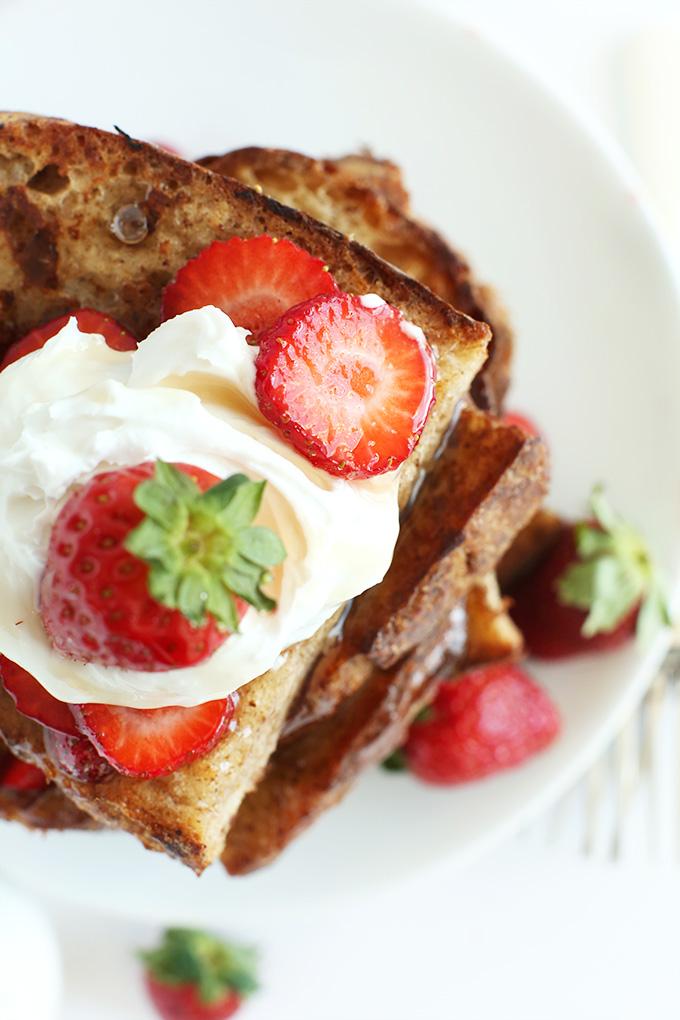 Vegan French Toast Minimalist Baker Recipes