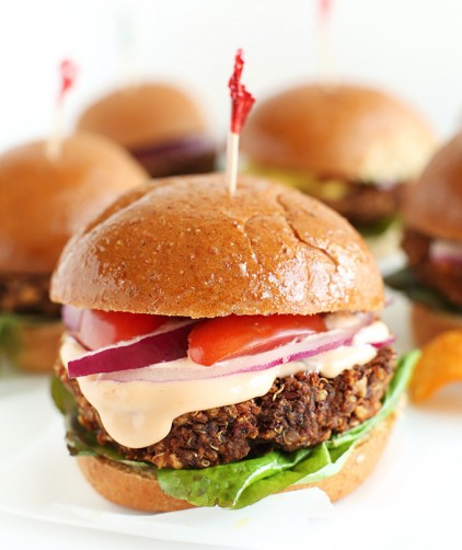 Wholesome veggie sliders for a delicious vegan meal