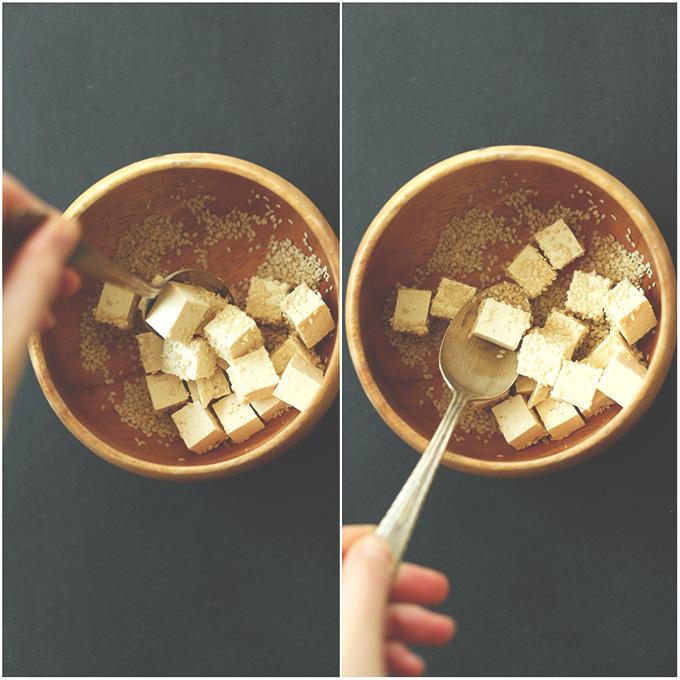 Sesame Tossed Tofu #minimalistbaker
