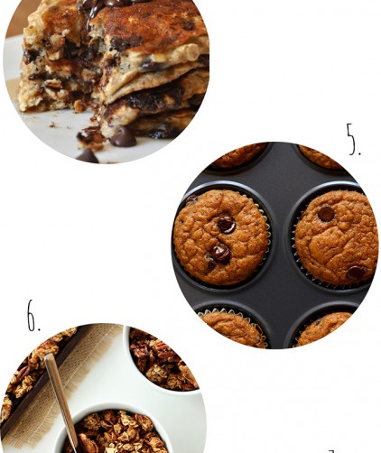 Images of various breakfast recipes for our roundup of Vegan Breakfast Ideas