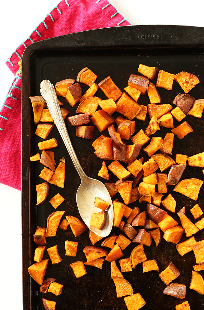 Mexican Roasted Sweet Potatoes #minimalistbaker