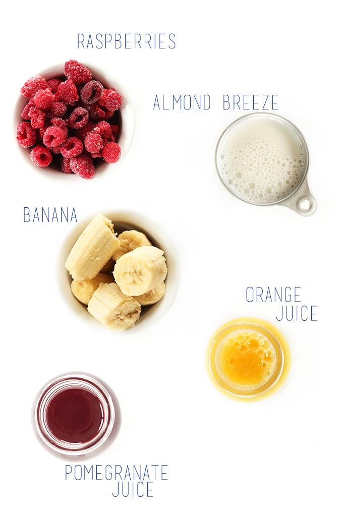 Summer in a Cup Smoothie! #vegan #glutenfree #minimalistbaker