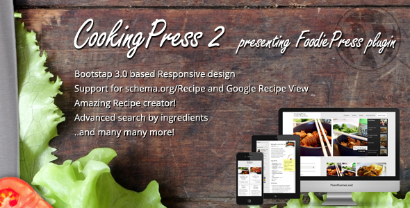 cooking presss theme