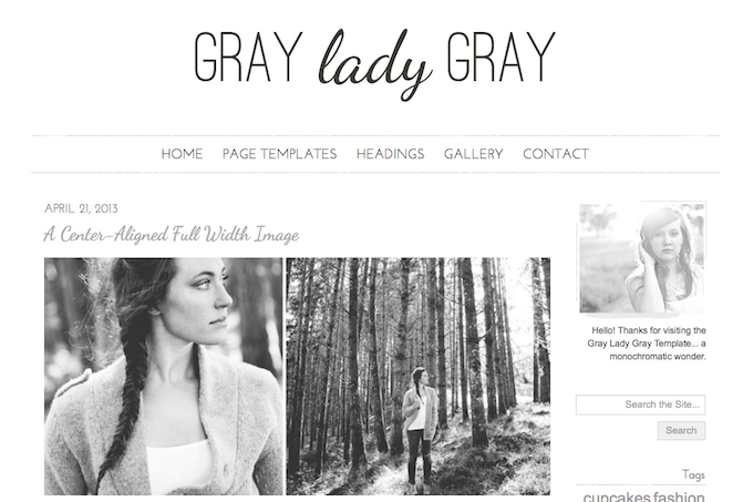 gray lady theme