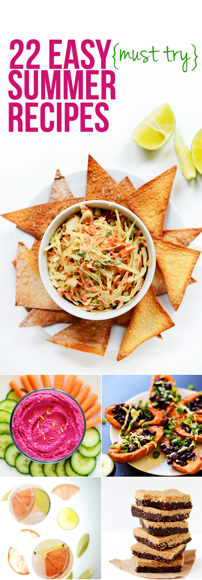 Easy Summer Lunch Ideas Easy summer recipes minimalist baker recipes 22 easy summer recipe ideas that require little to no heat and perfect for sisterspd