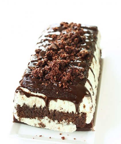 Vegan Chocolate Mint Ice Cream Cake for the ultimate birthday treat