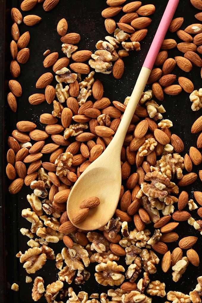 Roasted Almond Walnut Butter #minimalistbaker