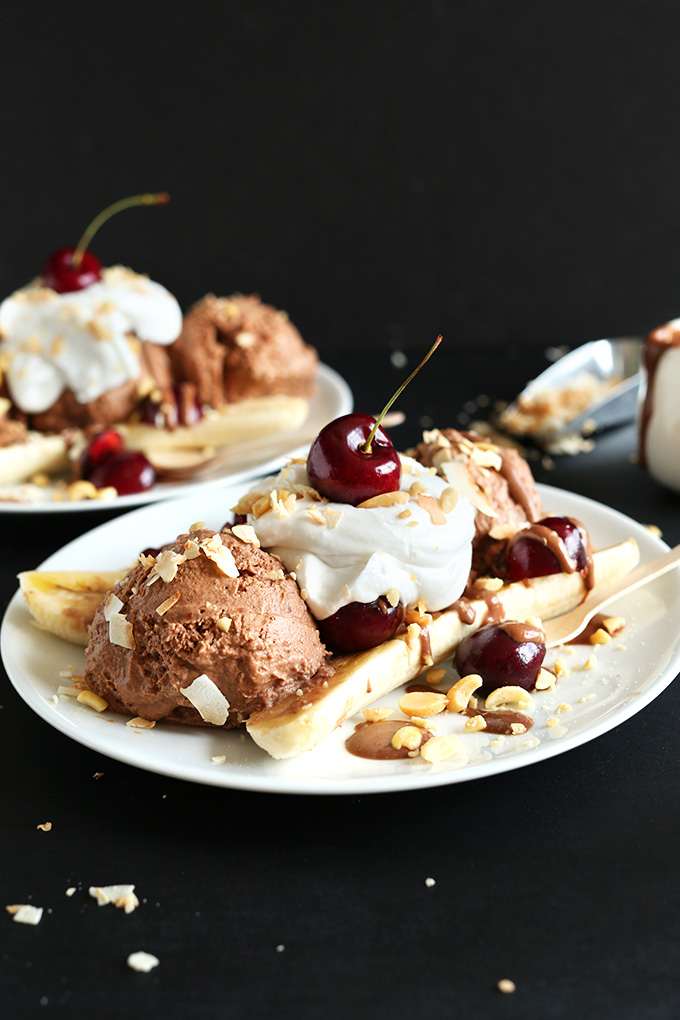 Vegan Banana Splits | Minimalist Baker Recipes