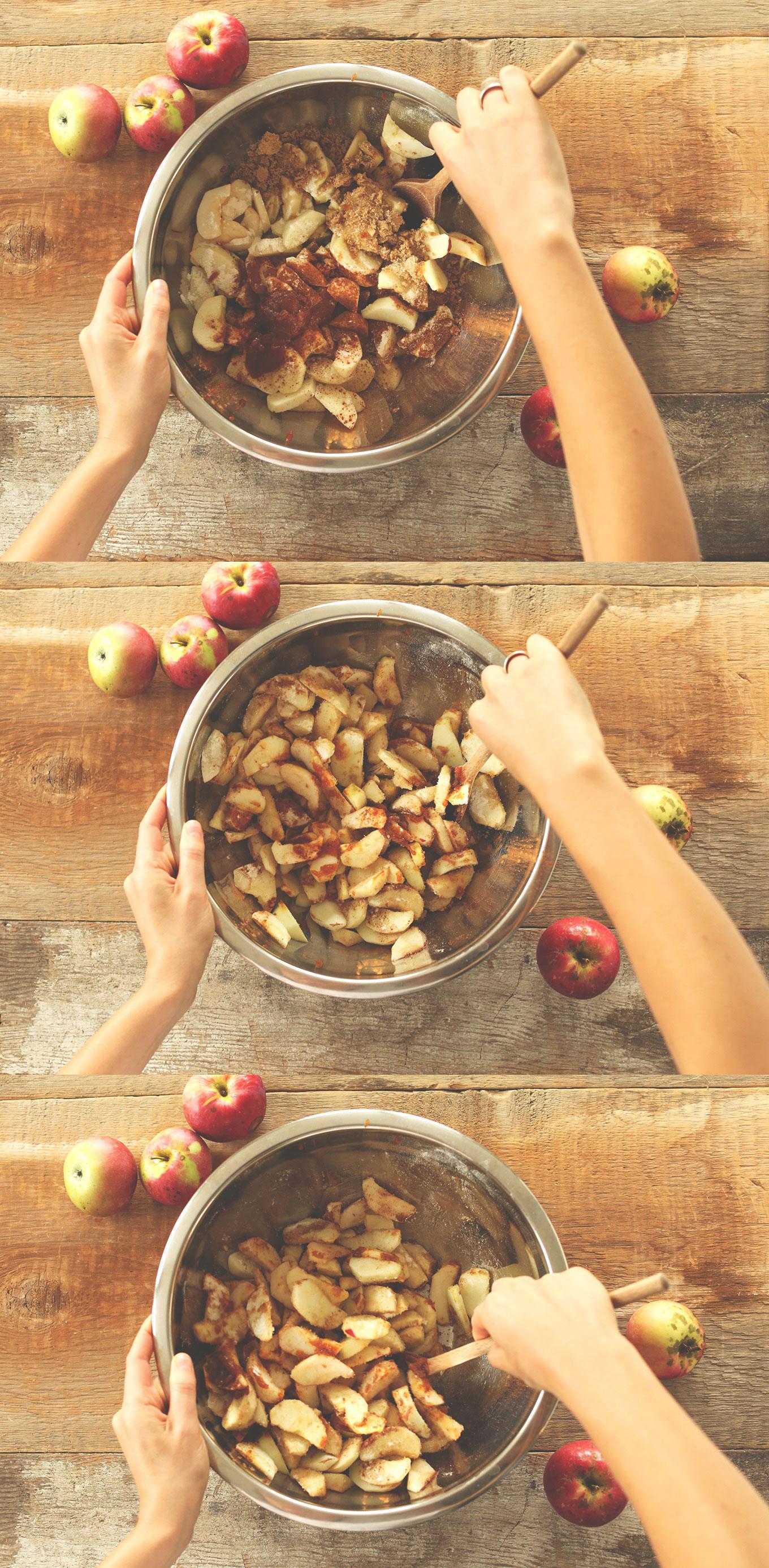 The result was an 8-ingredient apple pie with subtle pumpkin flavor ...