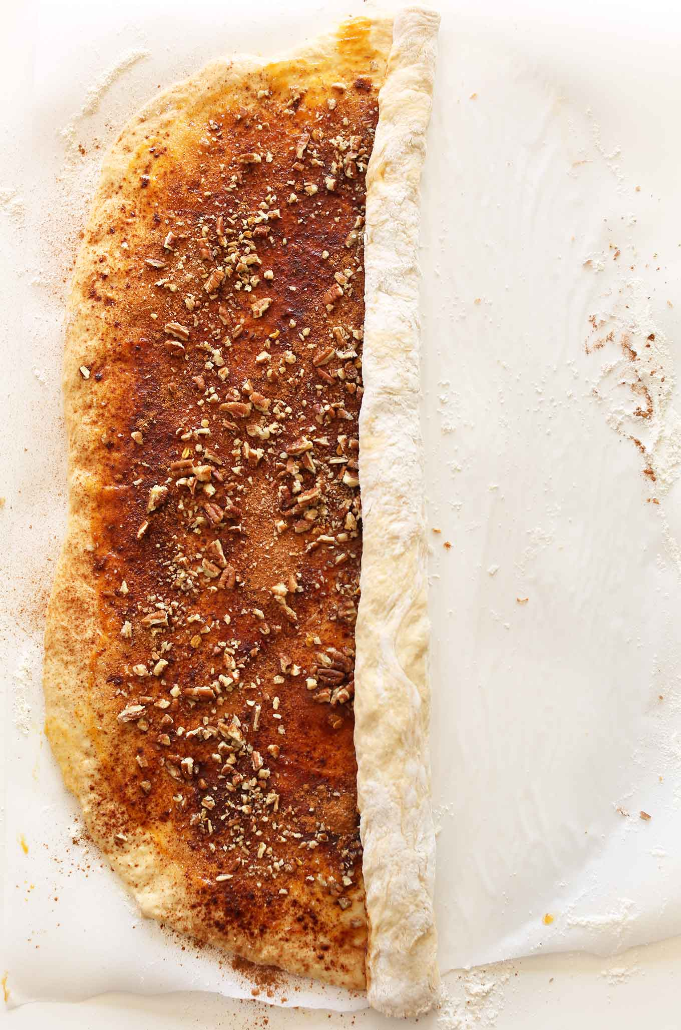 SIMPLE Vegan PUMPKIN Cinnamon Rolls! #vegan #minimalistbaker