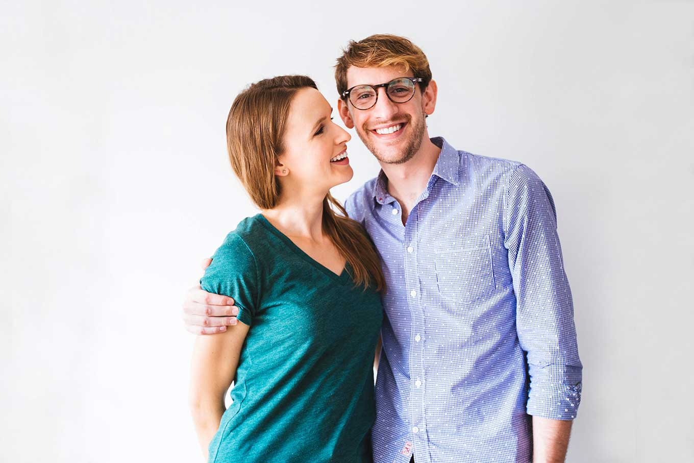 Photo of John and Dana of Minimalist Baker