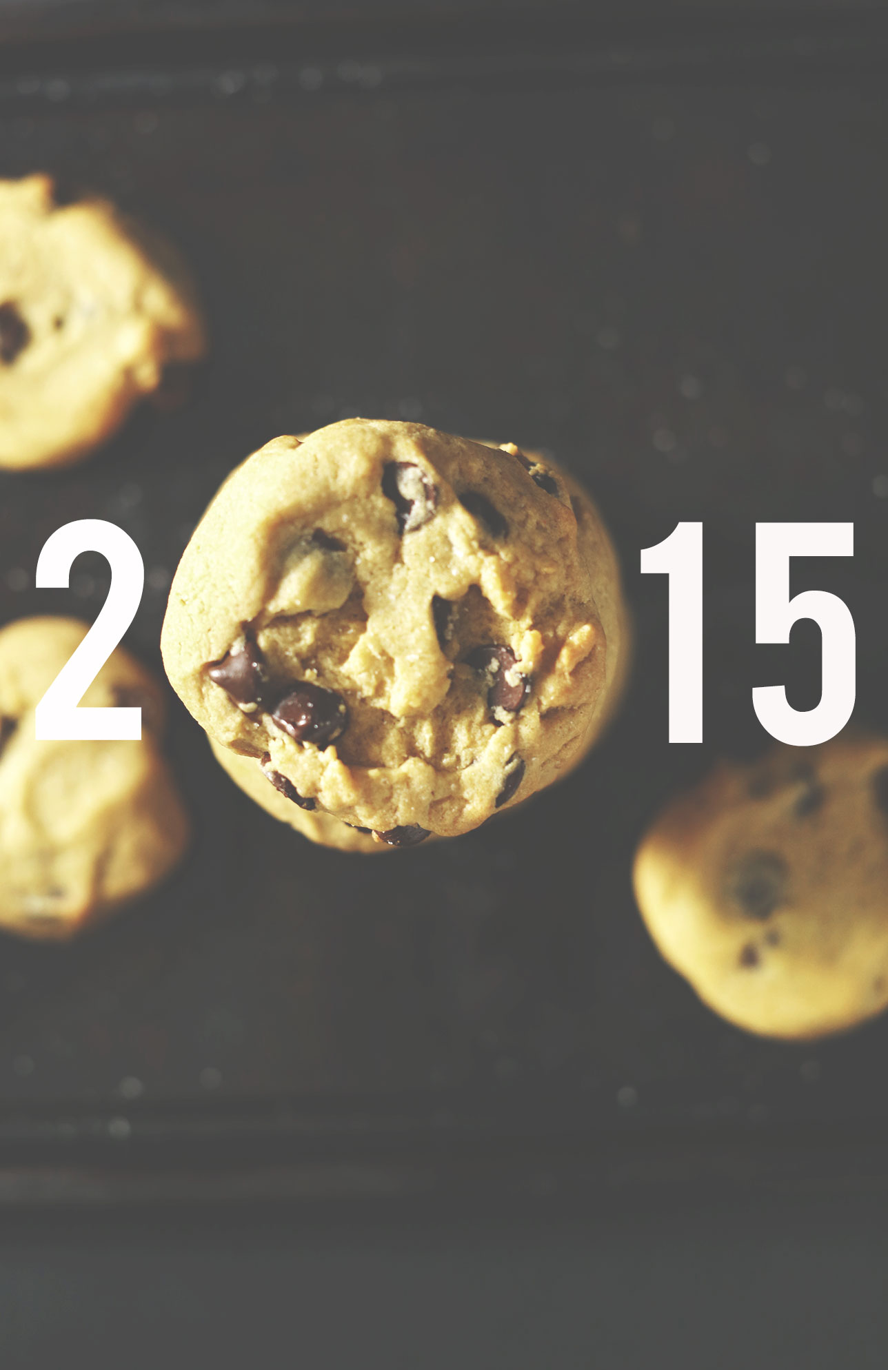 Photo of cookies as the zero in 2015